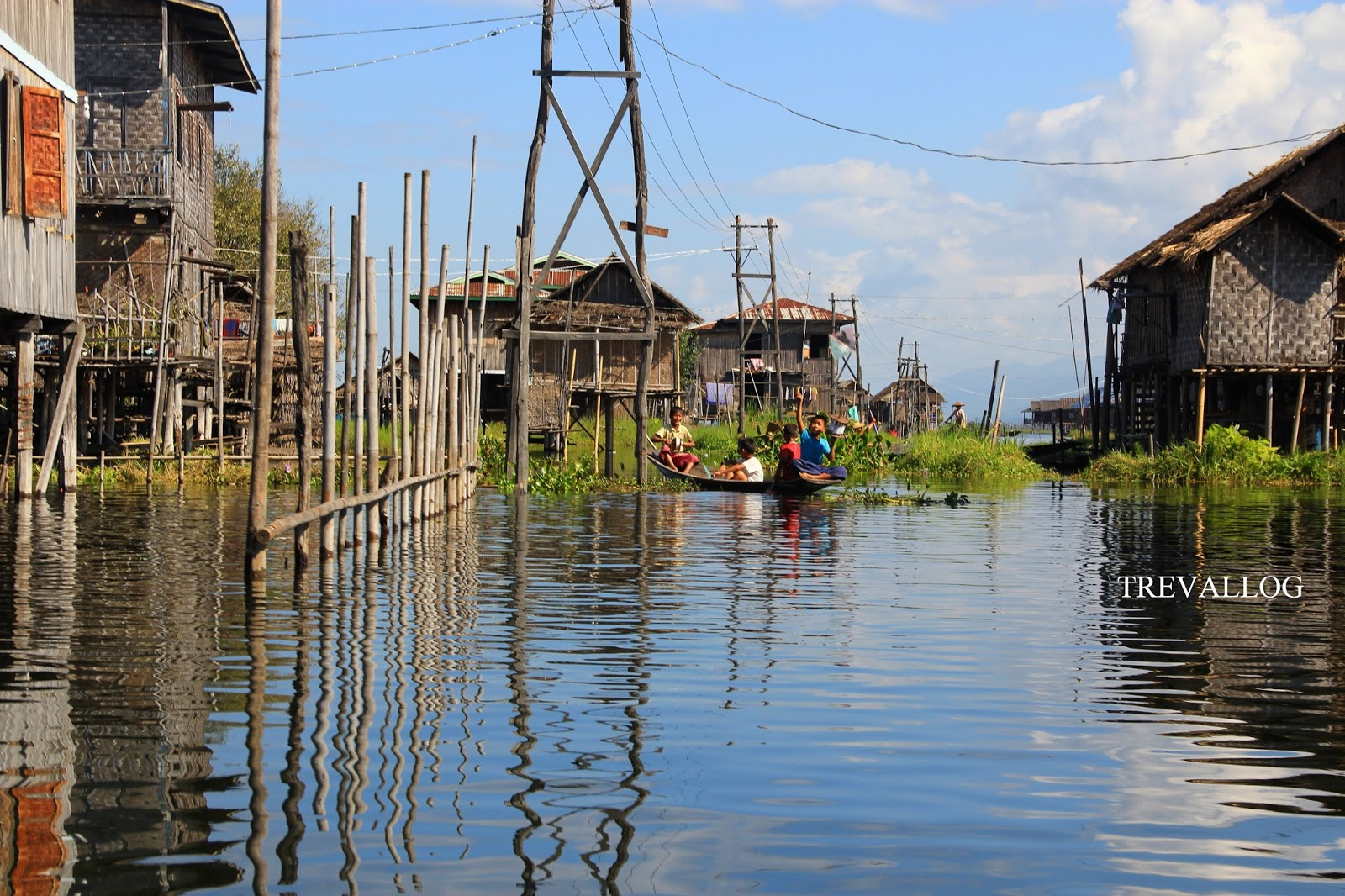 Playground in Inle Lake, Myanmar