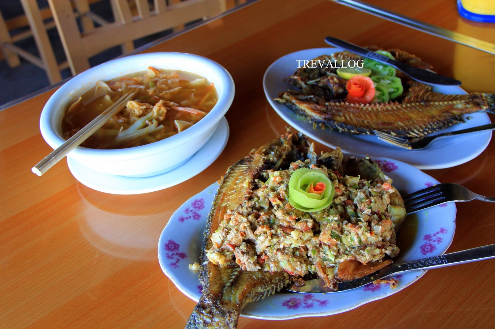 Our lunch at Nice Restaurant, Inle Lake, Myanmar