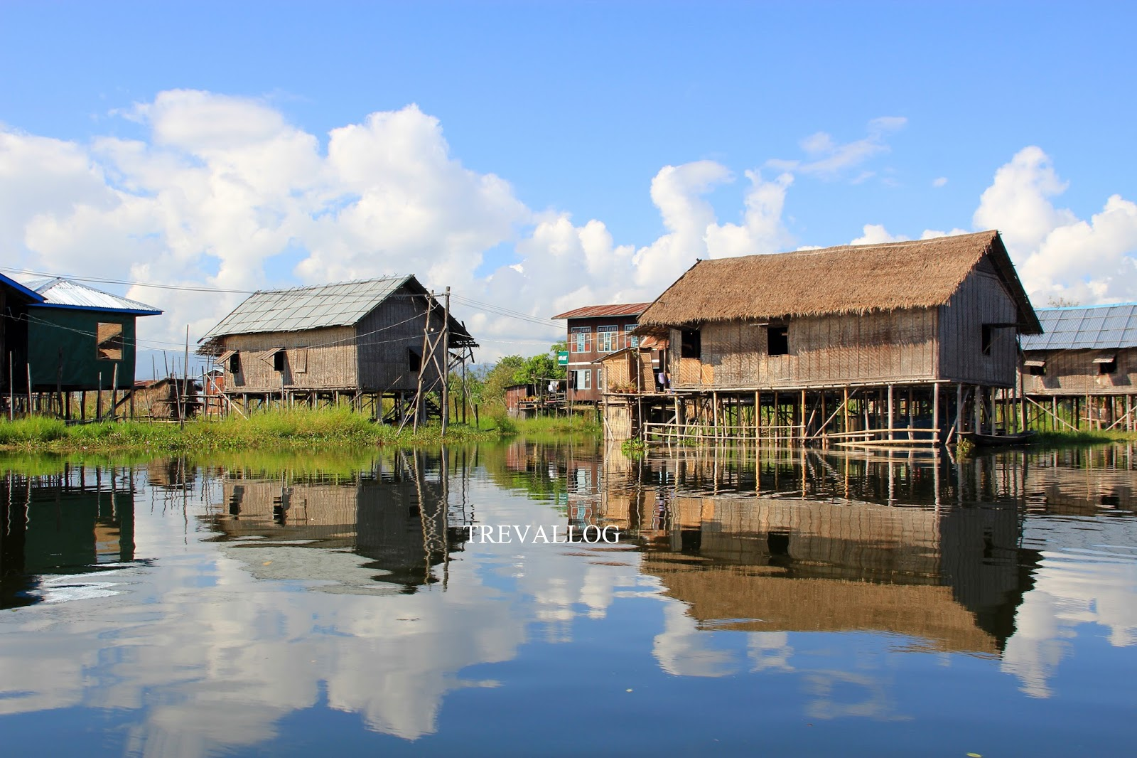 Blissful scenery in Inle Lake, Myanmar