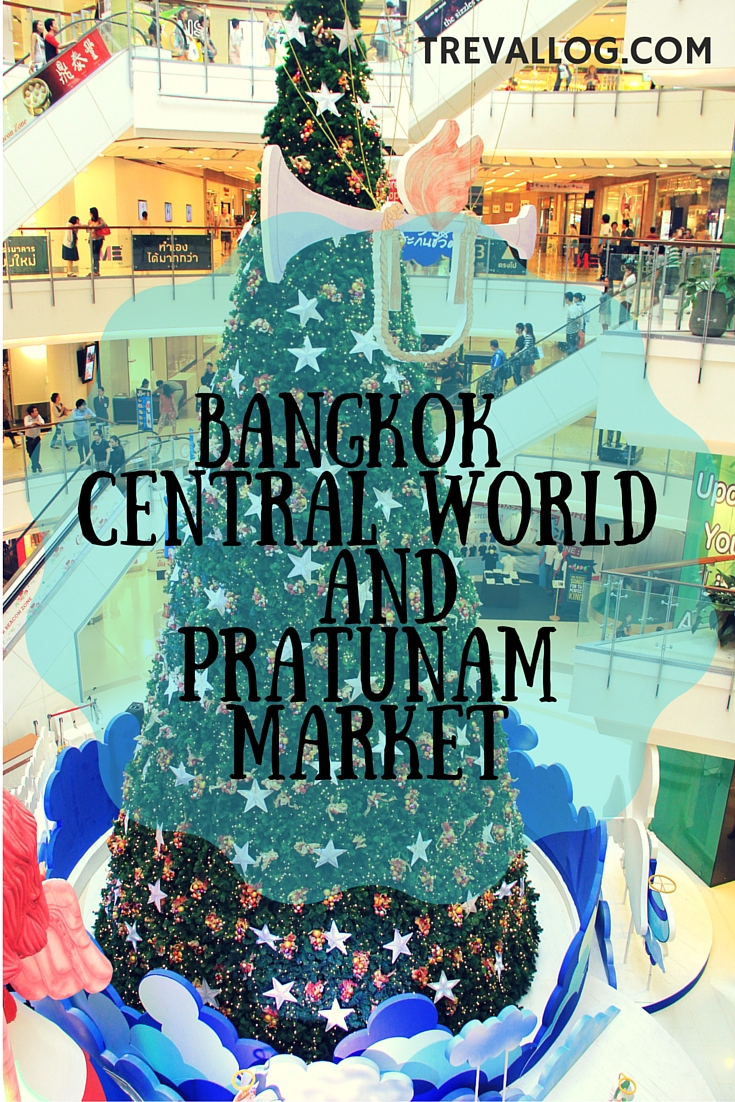 Bangkok Central World and Pratunam Market, Thailand