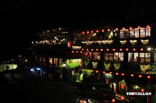 Night view at Jiufen, Taiwan