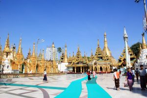 Last Day in Yangon – Shwedagon Pagoda, Relaxing Day