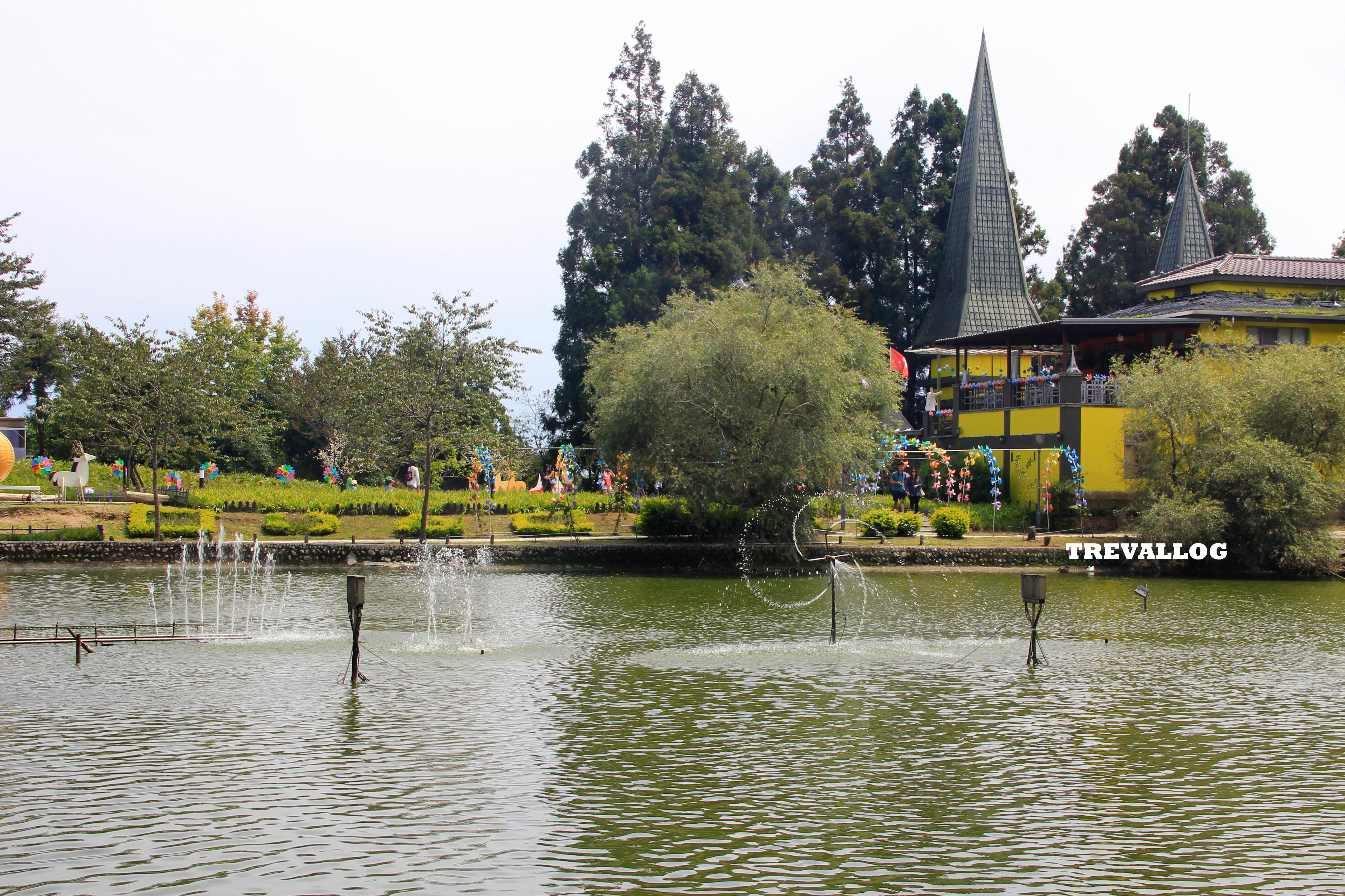 Water Performance at Little Swiss Garden, Cingjing, Taiwan
