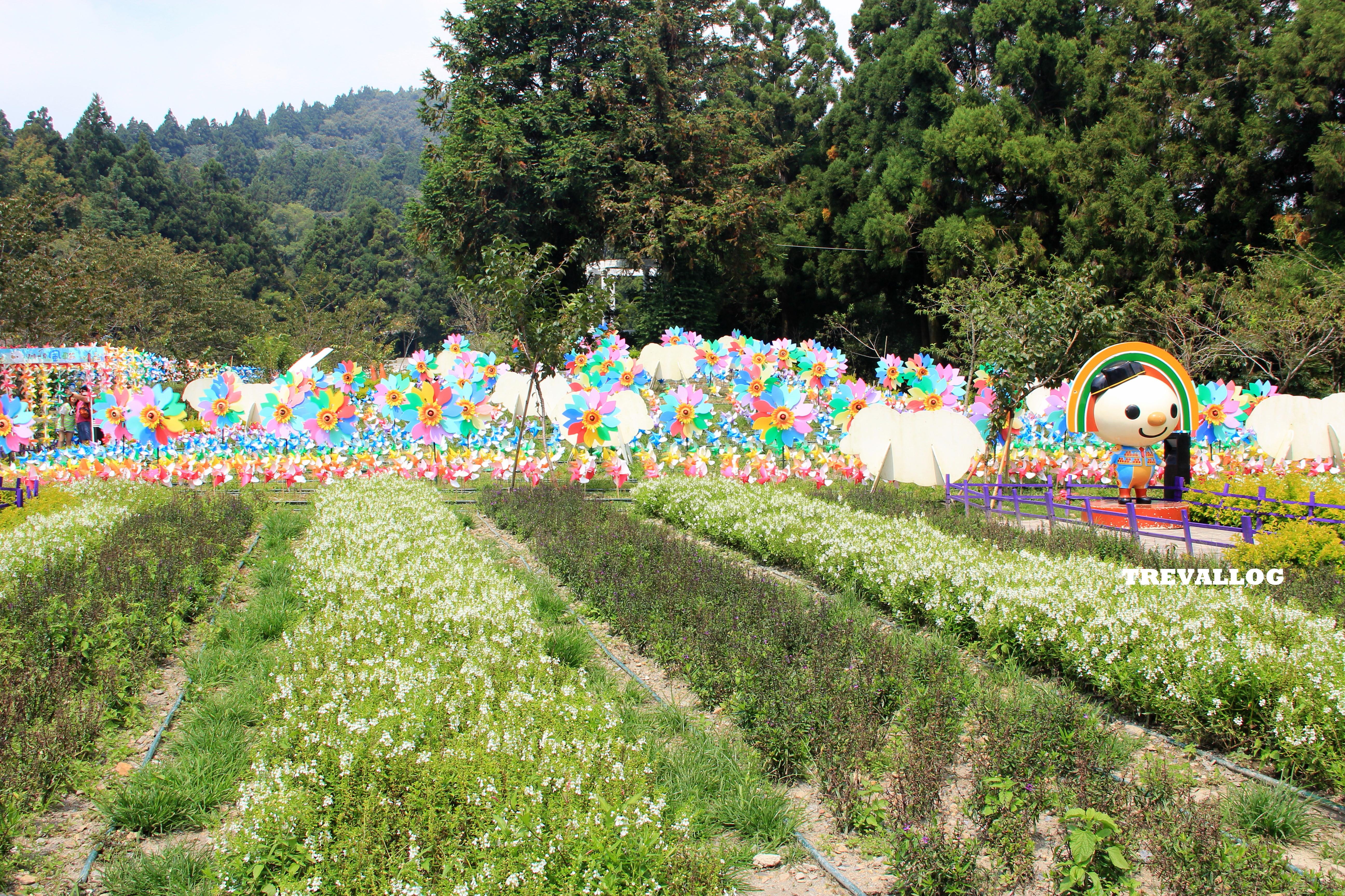 At Little Swiss Garden, Cingjing, Taiwan