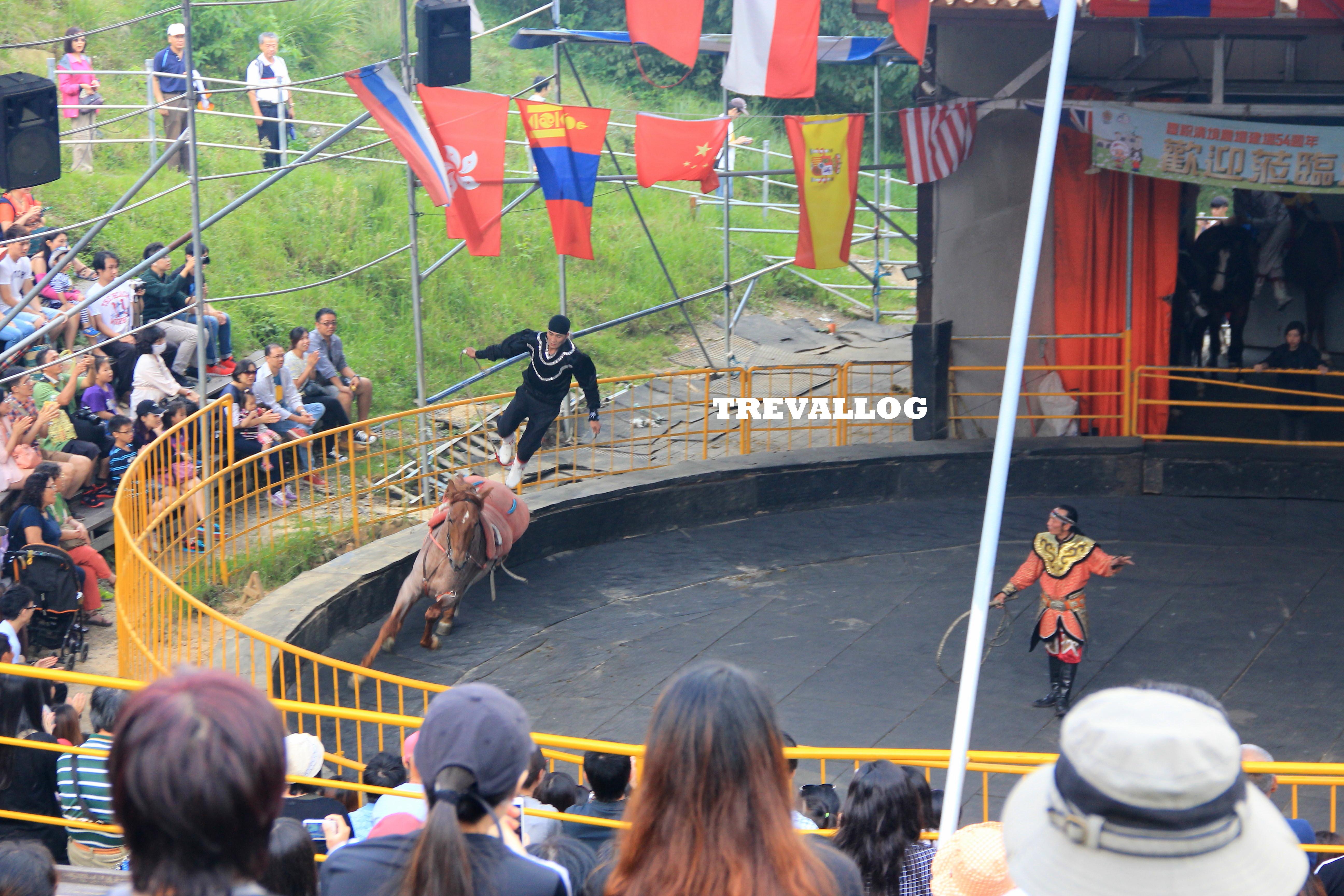 Horse Show at Cingjing Farm, Taiwan