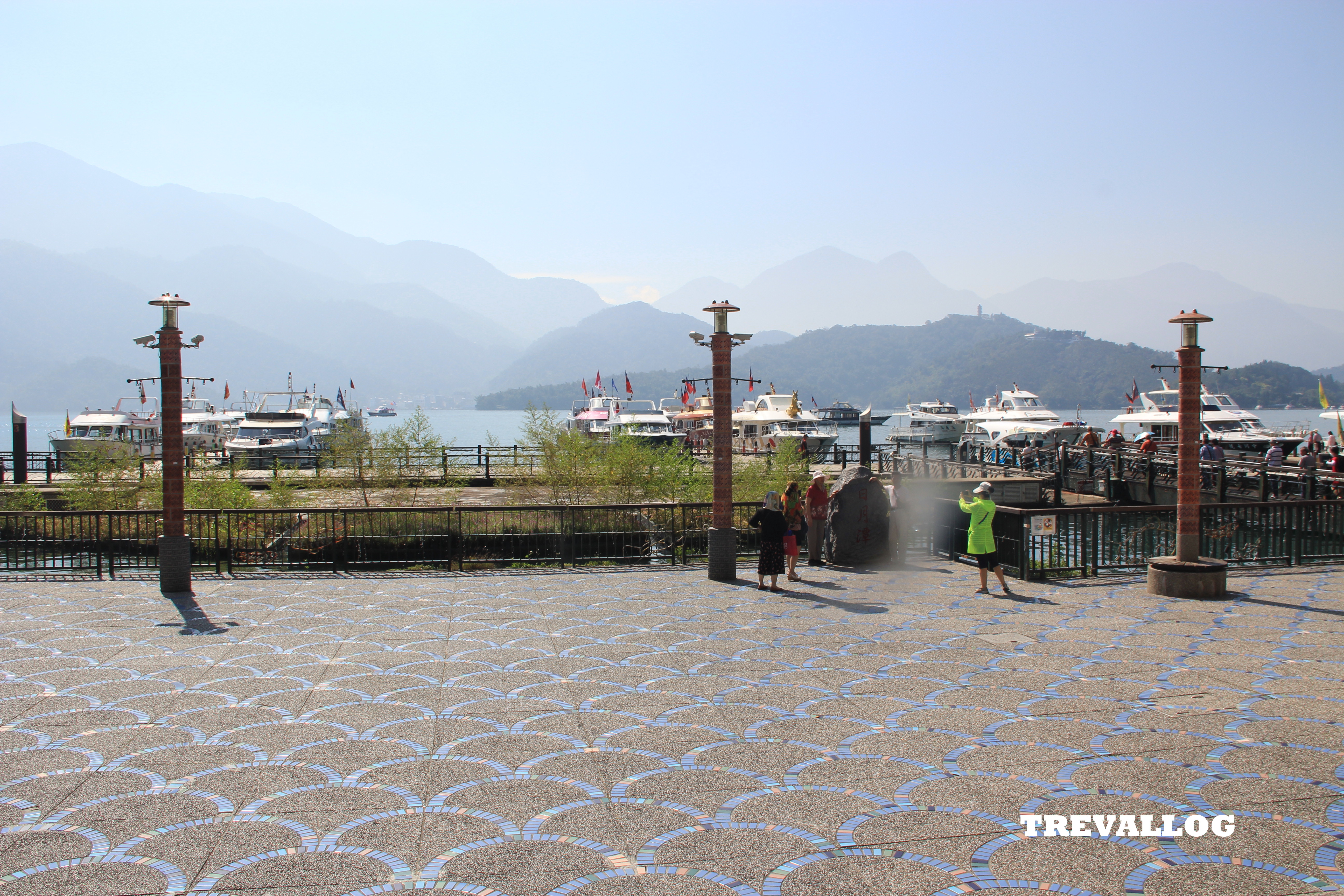 Ferry pier at Shuishe Village, Sun Moon Lake, Taiwan
