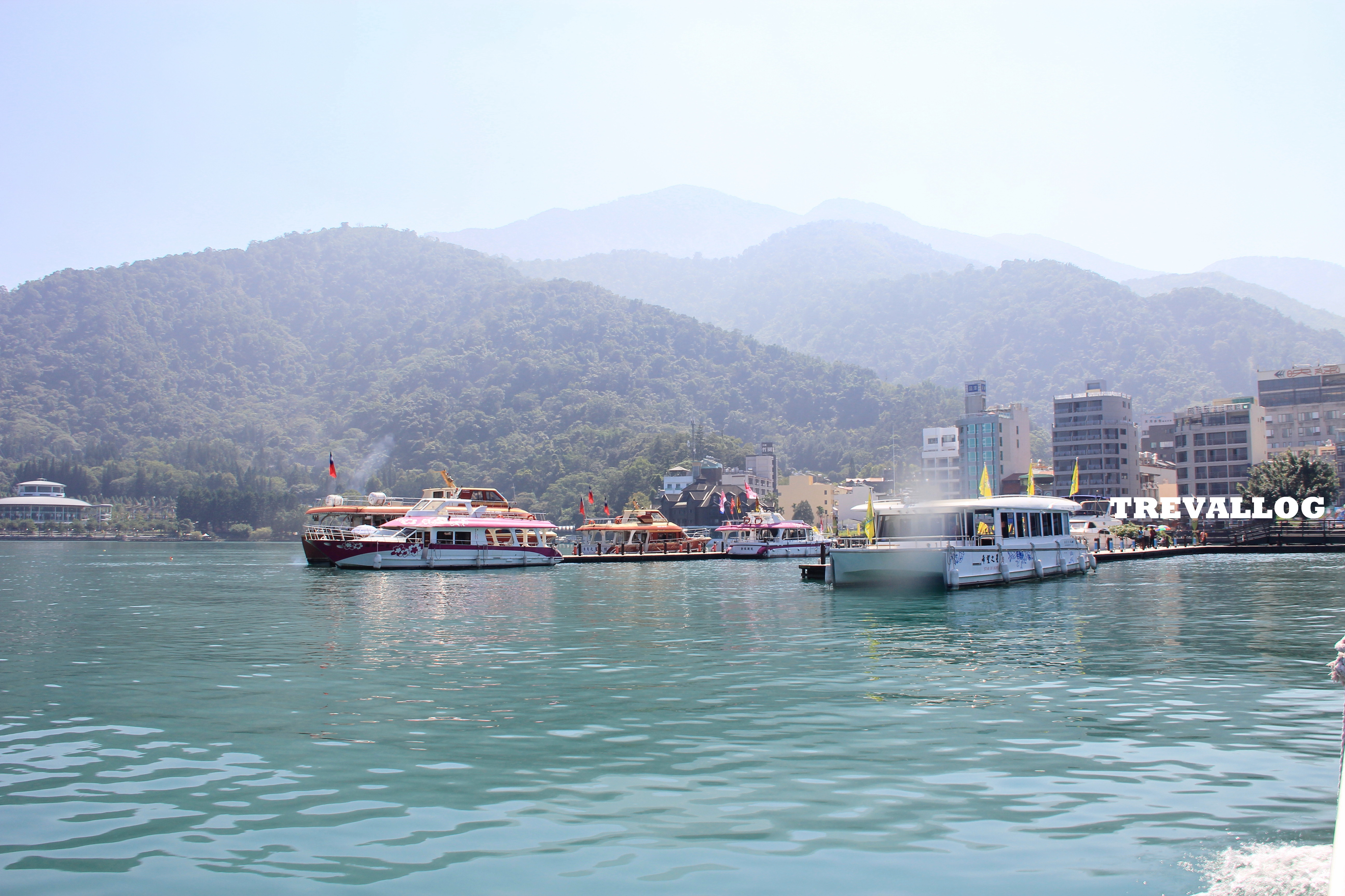 Approaching Ita Thao, at Sun Moon Lake, Taiwan