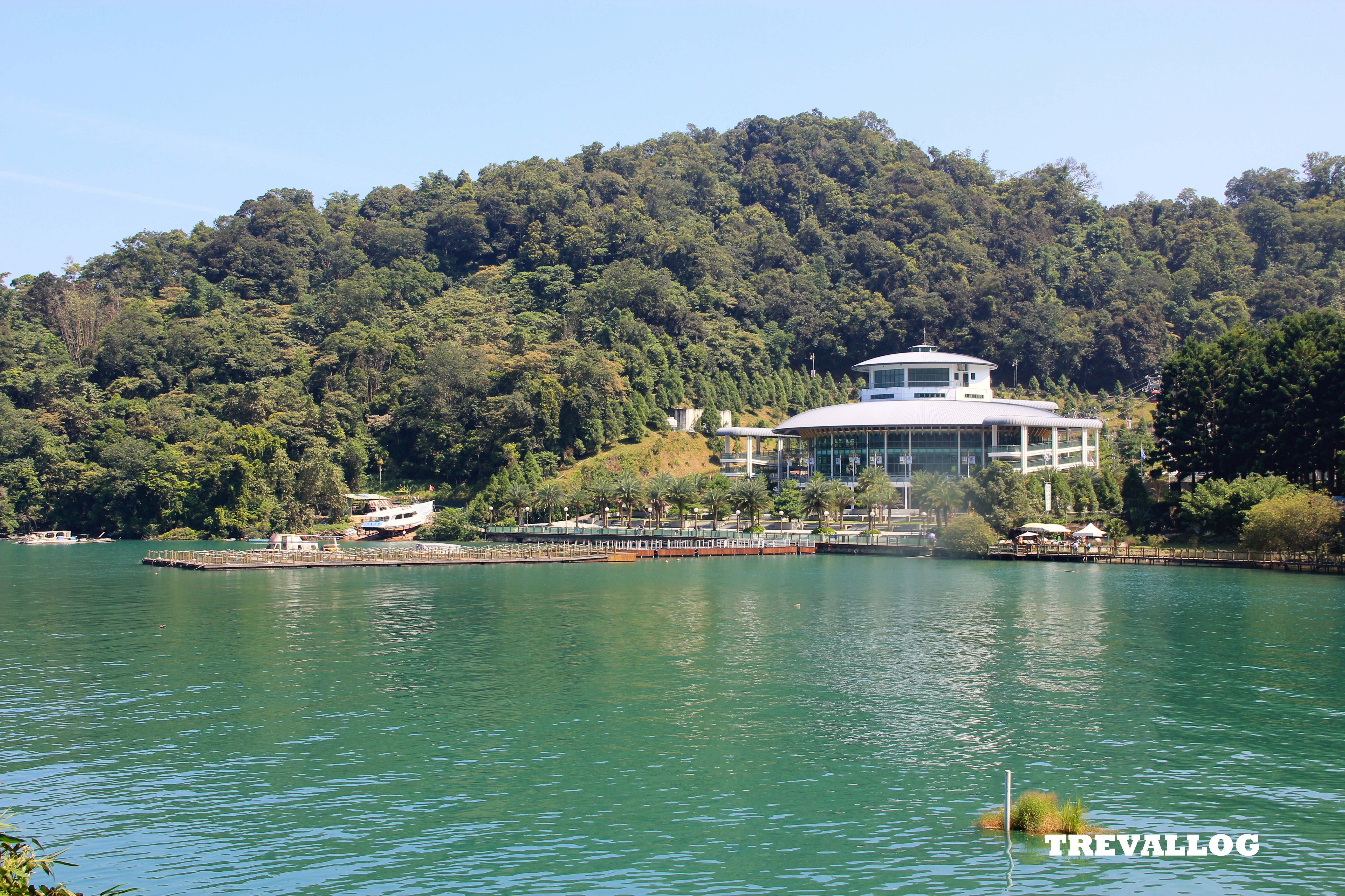 The ropeway station at Ita Thao, Sun Moon Lake, Taiwan