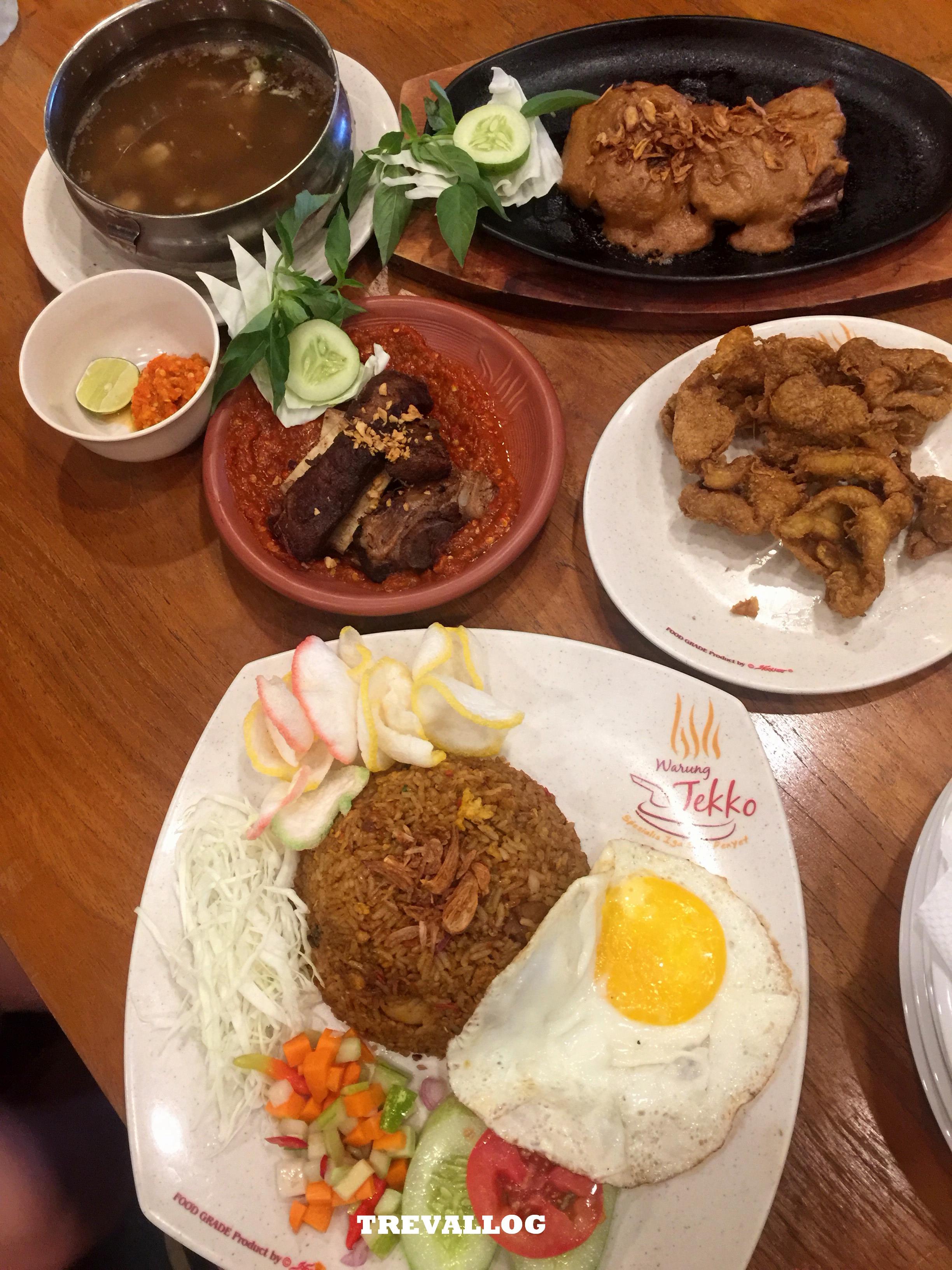 Dinner at Warung Tekko PIK, Jakarta, Indonesia