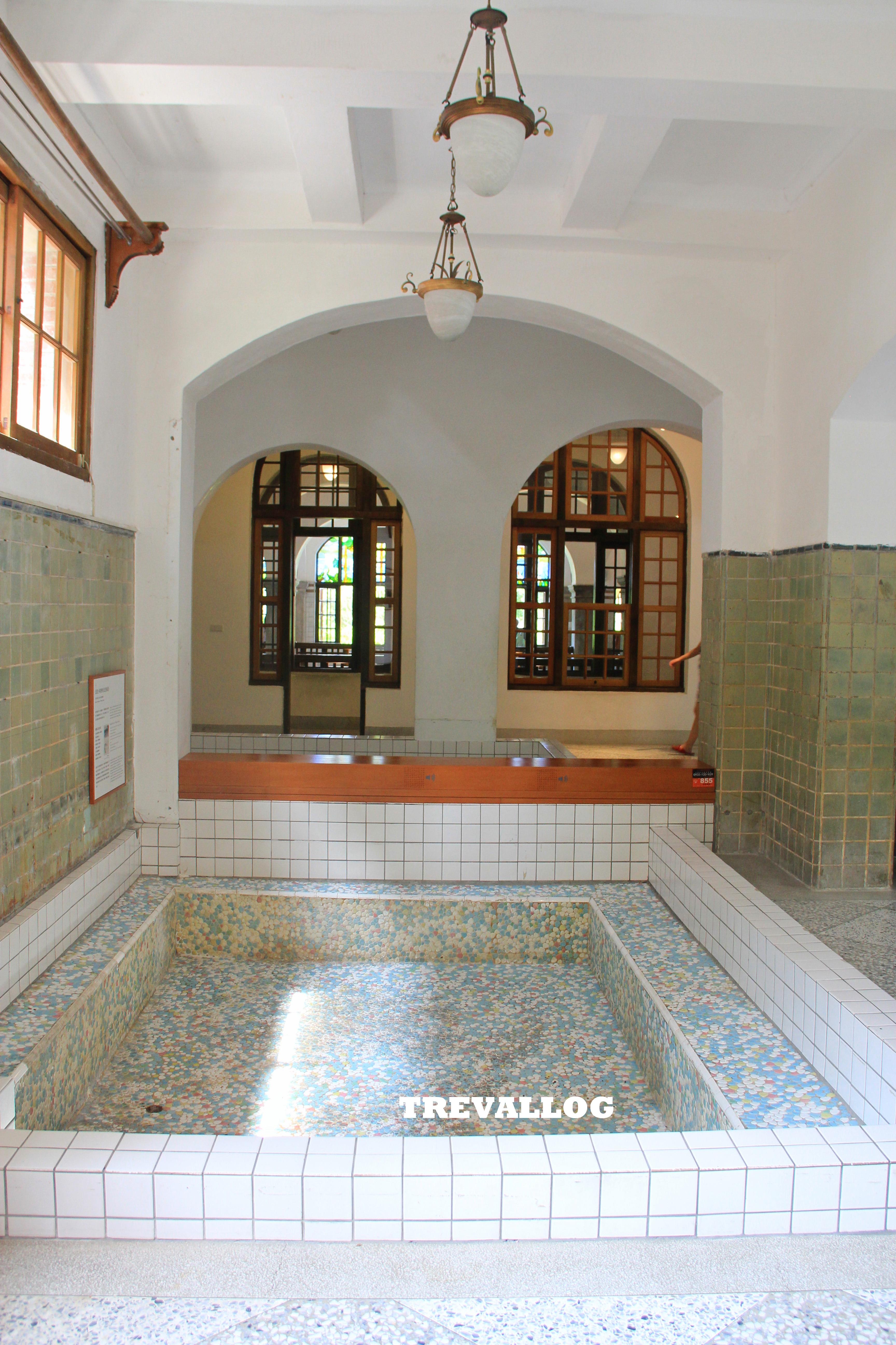 Beitou Hot Spring Museum public bath, Taipei, Taiwan