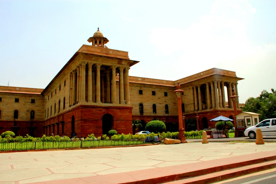 Parliament Buildings, New Delhi, India