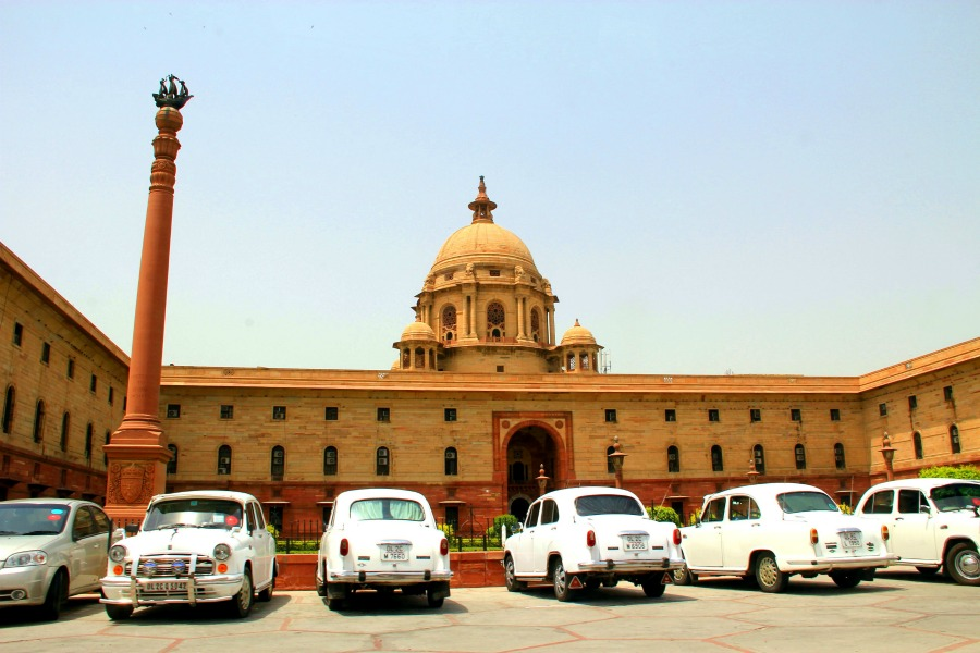 9.parliament building new delhi