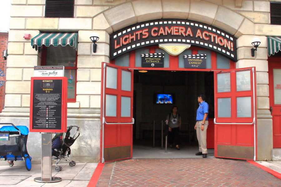 Lights Camera Action at Universal Studios Singapore