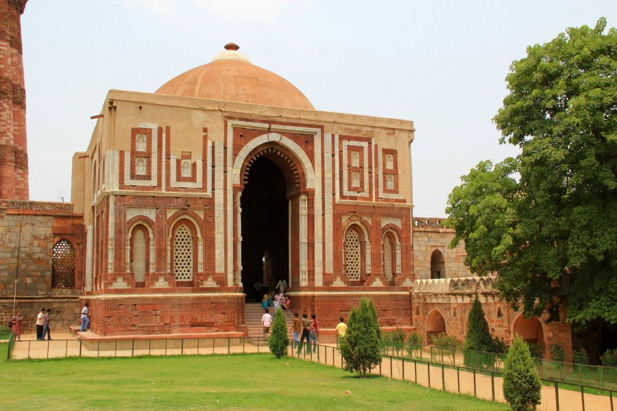 Alai Darwaza at Qutub Minar in New Delhi, India