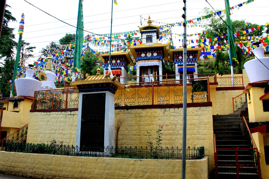 Namgyal Circle Walk at McLeod Ganj, Dharamsala, India