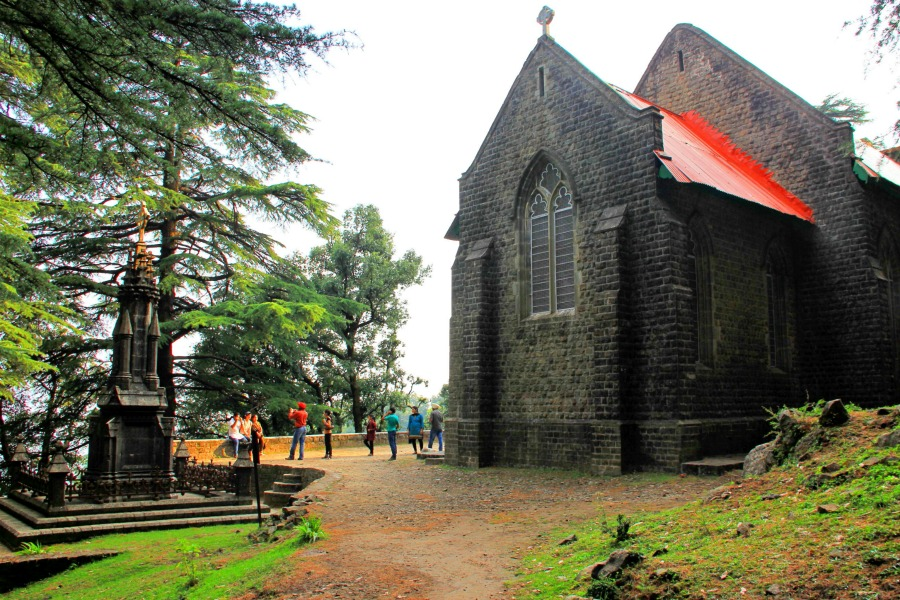 St John Church at McLeod Ganj, Dharamsala, India