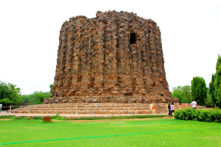 Alai Minar at Qutub Minar in New Delhi, India