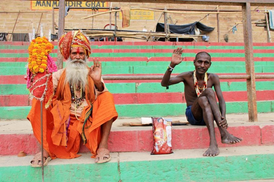 Sadhu, Varanasi, India