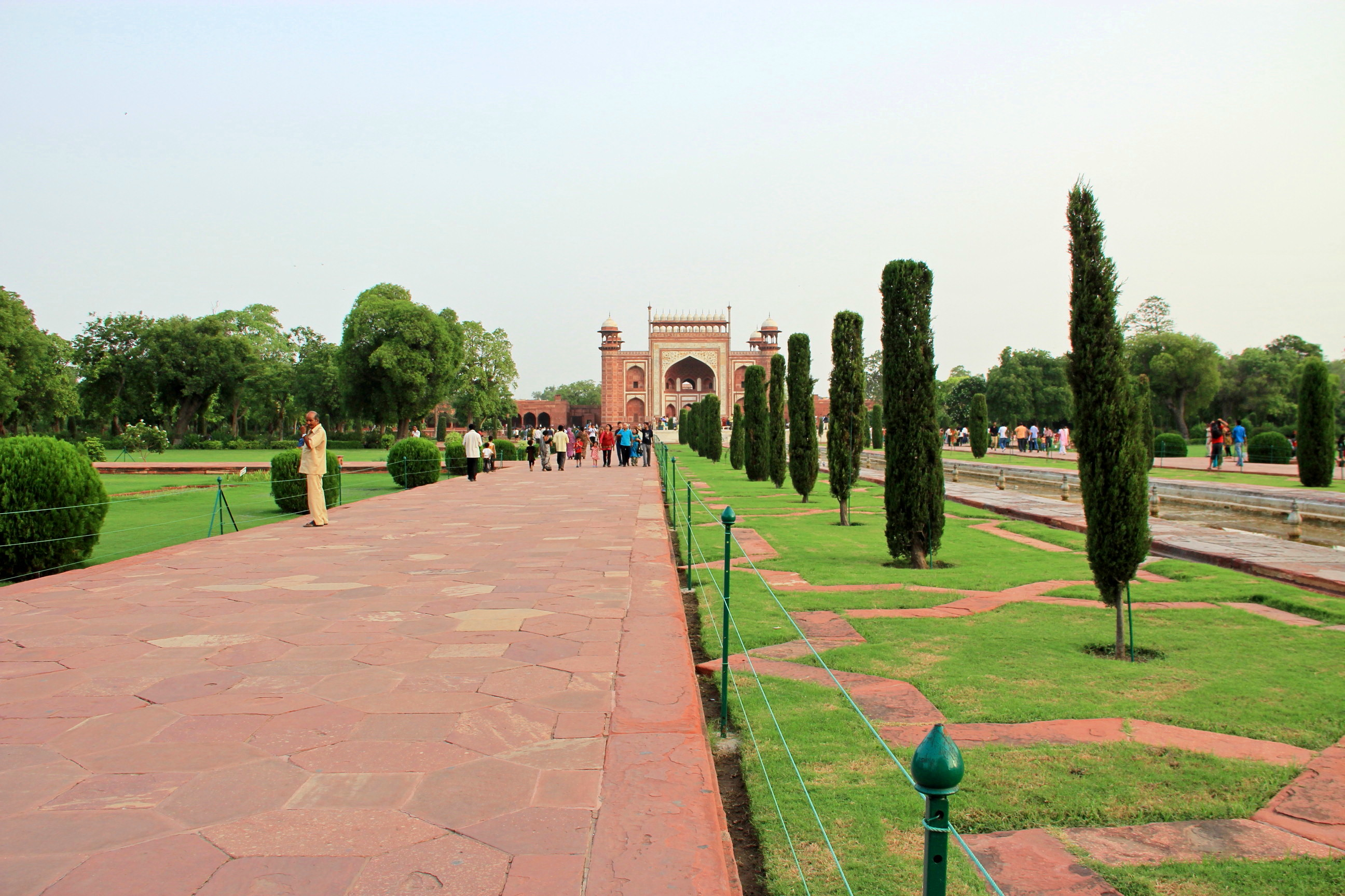 Garden of Taj Mahal, Agra, India