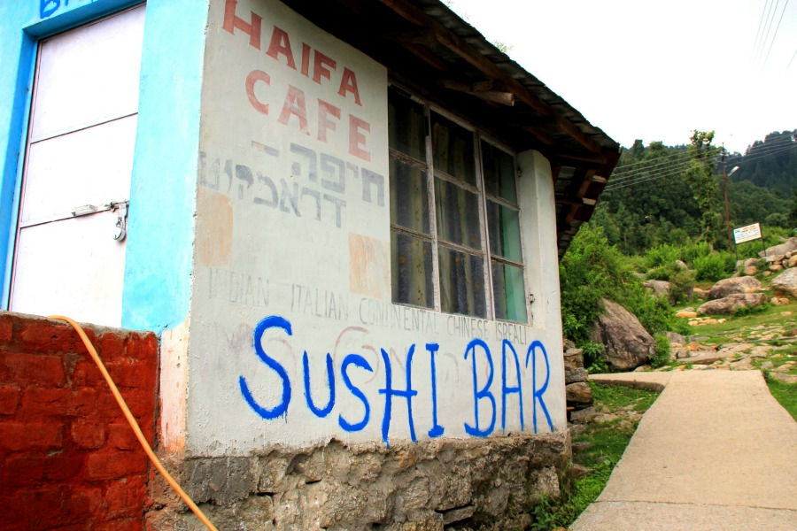 Haifa Cafe Sushi Bar in Dharamkot, McLeod Ganj, Dharamsala, India