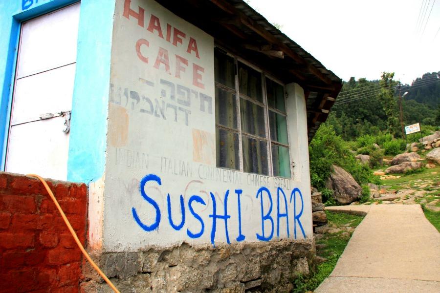 Haifa Cafe Sushi Bar in Dharamkot, McLeod Ganj, Dharamsala, India