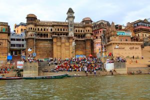 Varanasi: Banaras University, Shree Vishwanath Temple, Durga Mandir, Bharat Mata Mandir, Walking Along Ghats and Ganges River, Boat Tour
