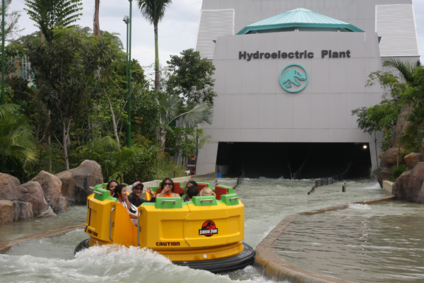 Rapids Adventure at Universal Studios Singapore