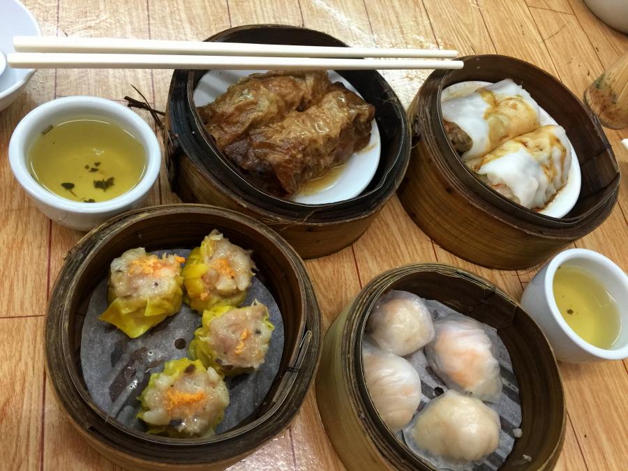 Dimsum breakfast from Saam Hui Yaat, Sai Ying Pun, Hong Kong