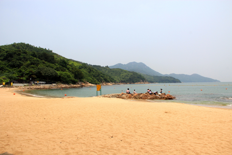 Hung Shing Yeh beach, Lamma island, Hong Kong
