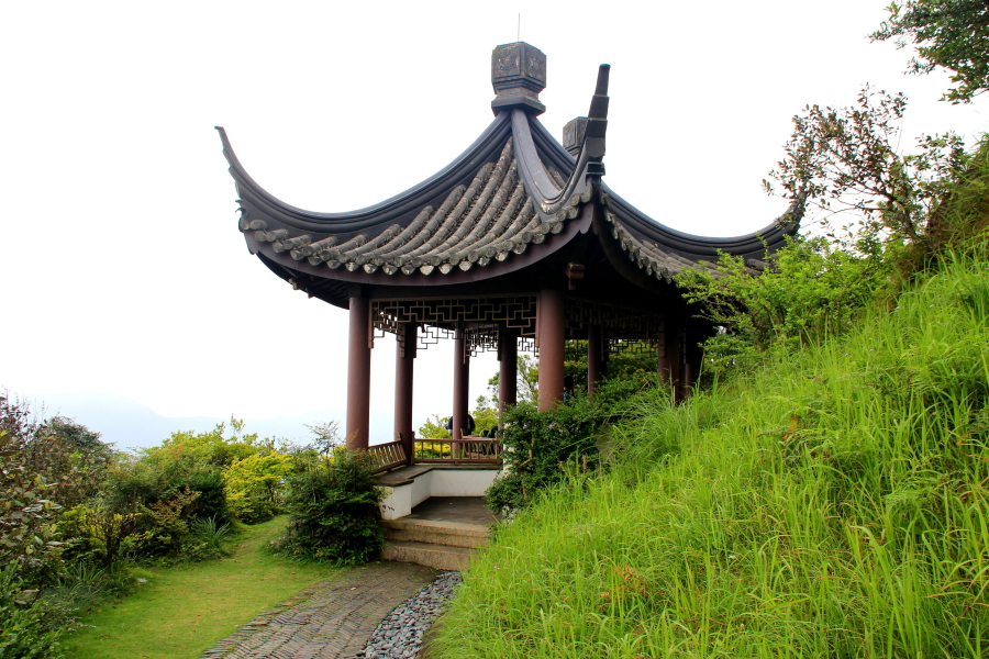 Kadoorie Brothers Memorial Pavilion at Kadoorie Farm & Botanic Garden, Hong Kong