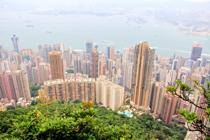 Peak Circle Walk, Hong Kong