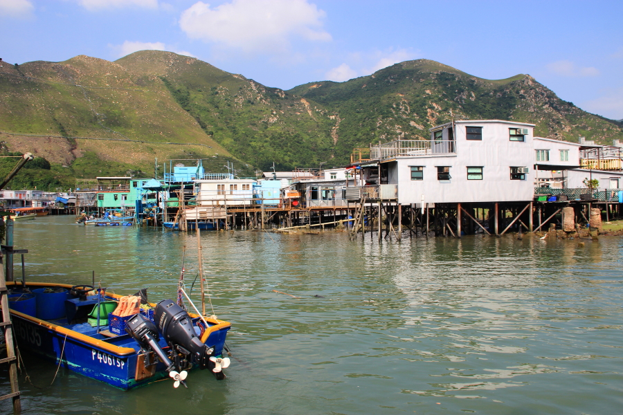 Tai O Fishing Village Stilt houses, Hong Kong
