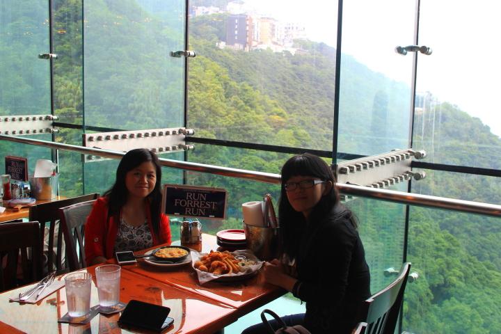 Bubba Gump at The Peak Tower, Hong Kong