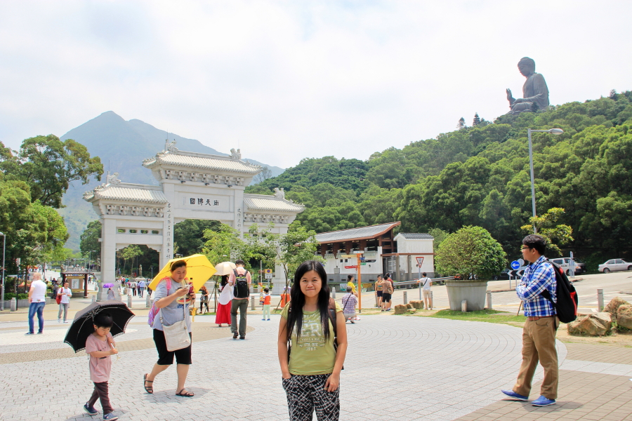 Ngong Ping village, Big Buddha, Hong Kong