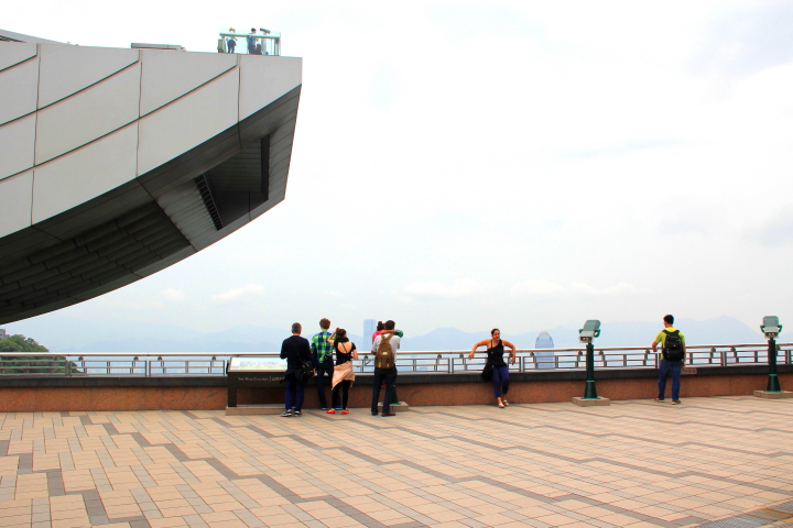 Rooftop at The Peak Galleria, Hong Kong