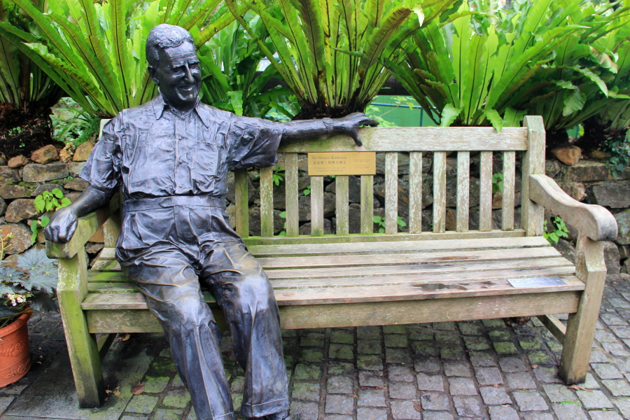 Statue of Sir Horace Kadoorie at Kadoorie Farm & Botanic Garden, Hong Kong