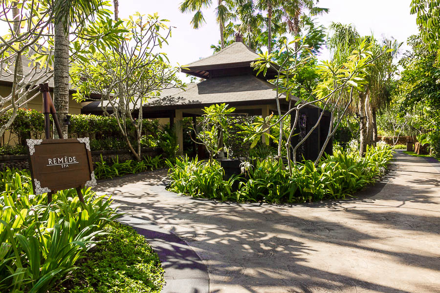 Entrance of Remede Spa, St Regis Resort, Nusa Dua, Bali