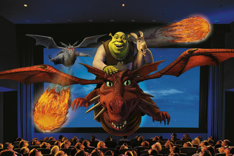 USS Far Far Away - Shrek 4D