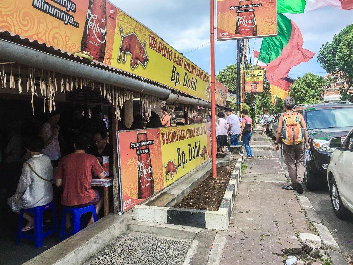 Eating Cheap in Nusa Dua Bali: Nasi Ayam Ibu Oki, Babi Guling Pak Dobiel, Ulam Restaurant