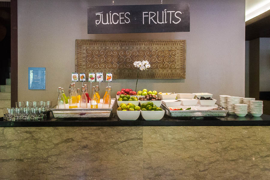 Momo Cafe, Juices and Fruits, Courtyard Marriott Nusa Dua Bali