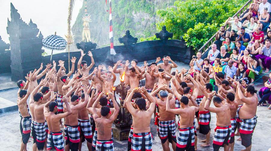 Kecak Dance, Uluwatu Temple, Bali
