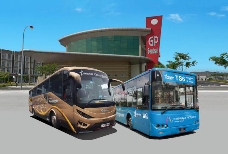 Bus TS6 - Singapore to Johor Bahru