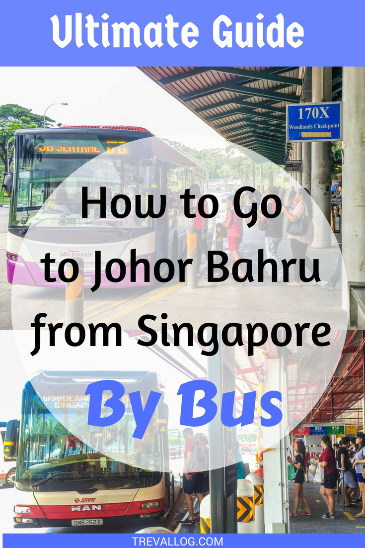 go to johor bahru from singapore by bus