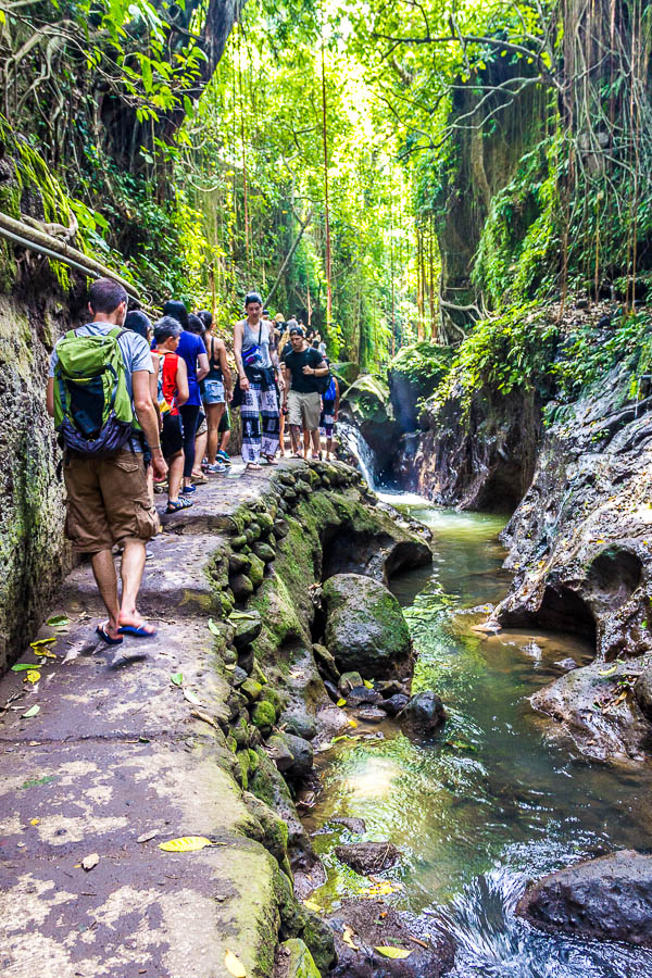 River at Monkey Forest Ubud, Bali