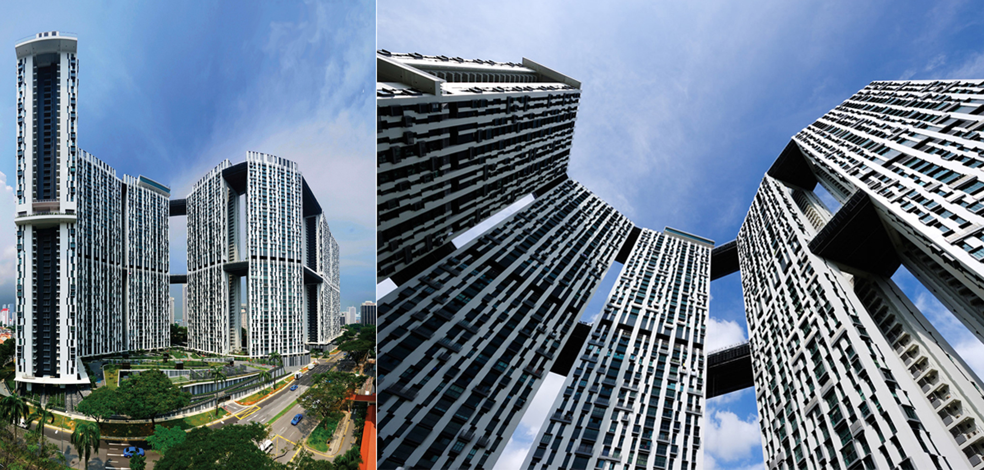Pinnacle Duxton award winning design by ARC studio and RSP