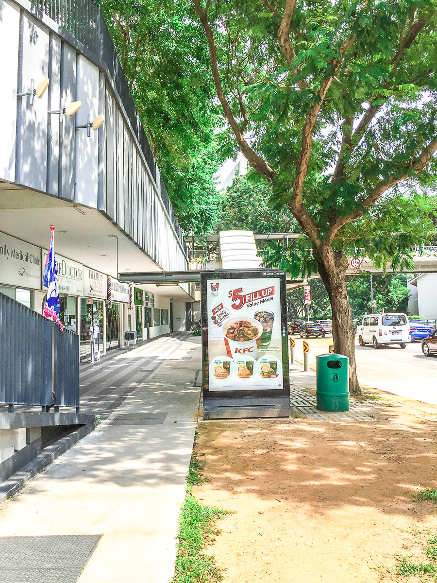 """This is bus stop named """"Opp Maritime Hse."""" Right after the bus stop, enter the building on the left. You will see Managing Agent (MA) Office of Pinnacle @ Duxton"""