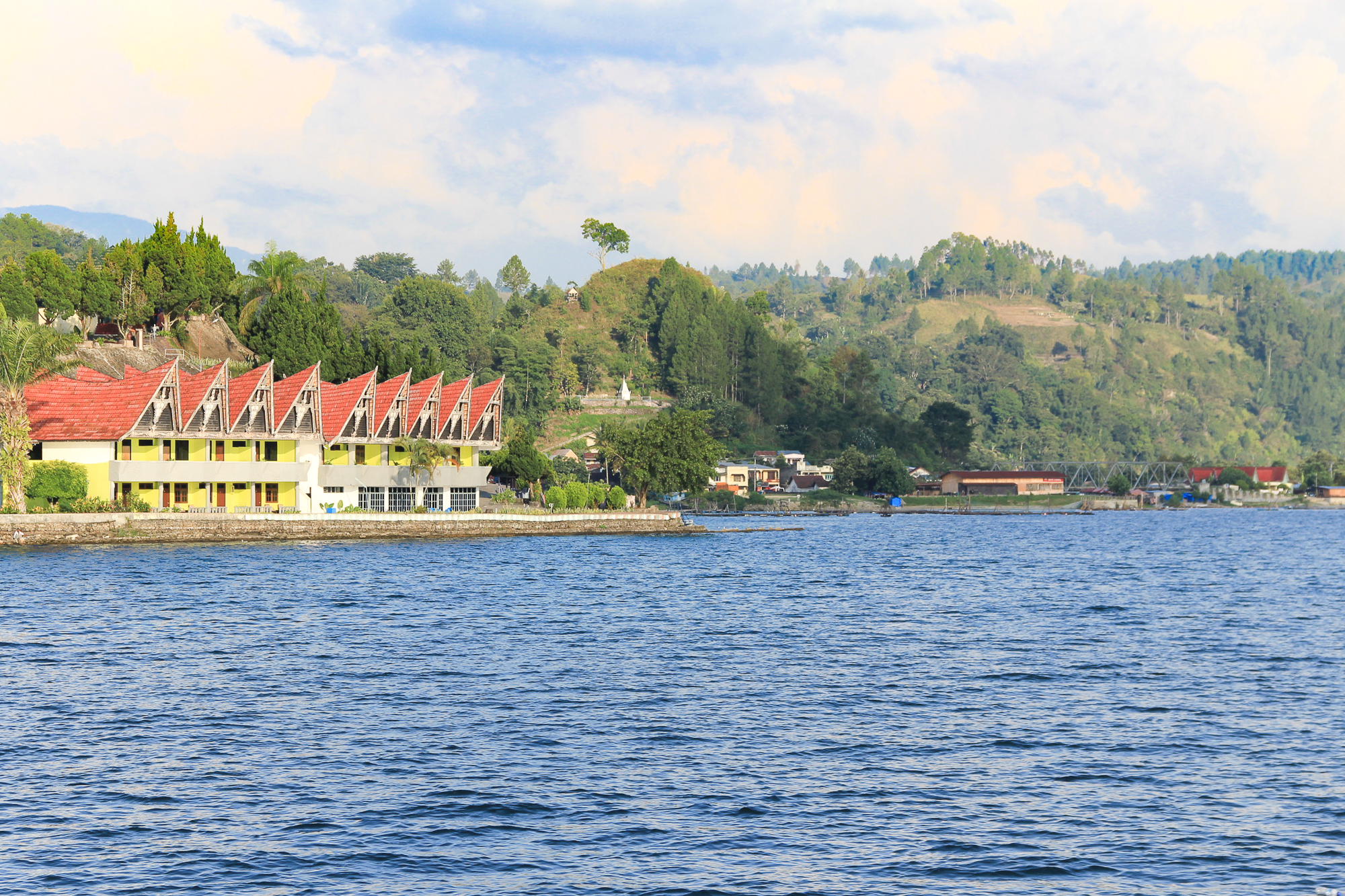 From Medan to Samosir Island (Lake Toba) via Siantar and Parapat