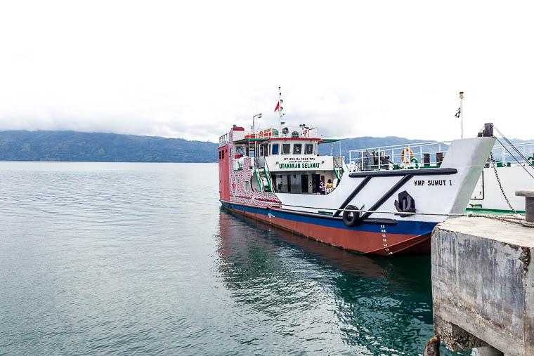 Simanindo Ferry, Lake Toba, North Sumatera