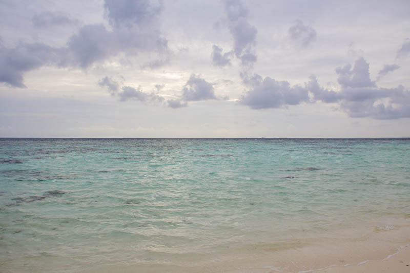 Beach at Hangnaameedhoo, Maldives