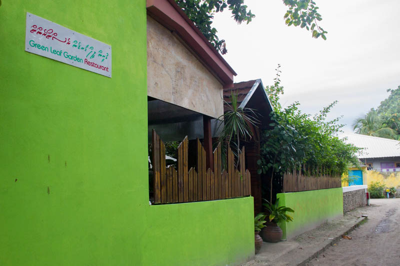 Food in Hangnaameedhoo - Green Leaf Restaurant